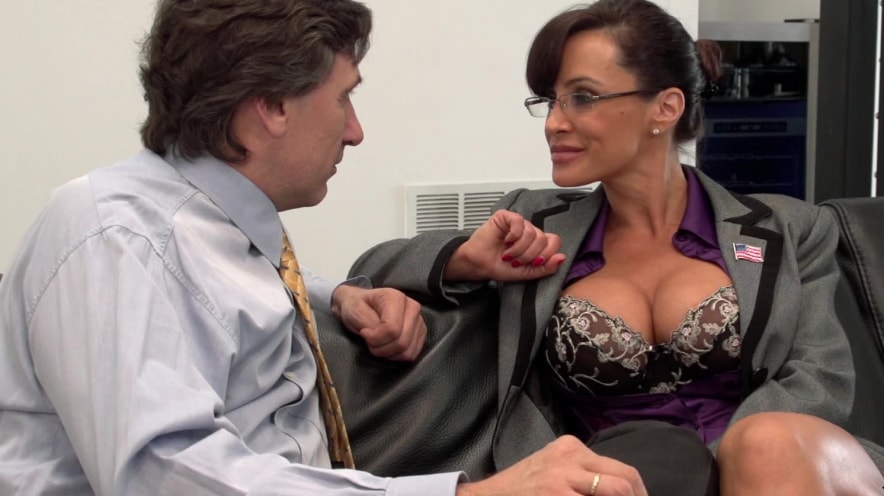 Lisa Ann Gets Slutty During Her Job Interview